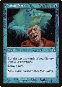 Mental Note, Magic: The Gathering, Judgment