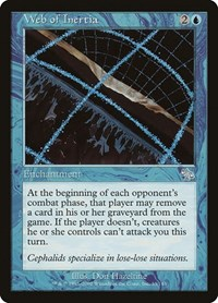 Web of Inertia, Magic: The Gathering, Judgment