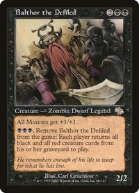 Balthor the Defiled (Foil)