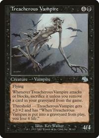 Treacherous Vampire, Magic: The Gathering, Judgment