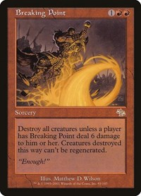 Breaking Point, Magic, Judgment