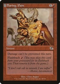 Flaring Pain, Magic: The Gathering, Judgment