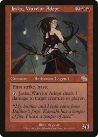 Jeska, Warrior Adept (Foil)