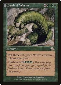 Crush of Wurms, Magic: The Gathering, Judgment