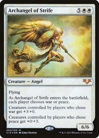 Archangel of Strife, Magic: The Gathering, From the Vault: Angels