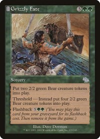 Grizzly Fate, Magic: The Gathering, Judgment