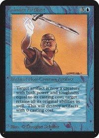 Animate Artifact, Magic: The Gathering, Alpha Edition