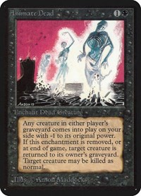 Animate Dead, Magic: The Gathering, Alpha Edition