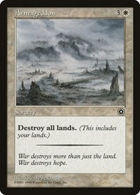 Armageddon, Magic: The Gathering, Portal Second Age