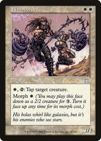 Whipcorder, Magic: The Gathering, Onslaught