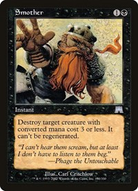 Smother, Magic: The Gathering, Onslaught