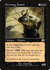 Grinning Demon, Magic: The Gathering, Onslaught