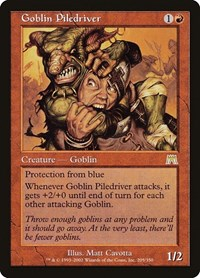 Goblin Piledriver, Magic: The Gathering, Onslaught