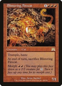 Blistering Firecat, Magic: The Gathering, Onslaught