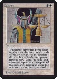 Balance, Magic: The Gathering, Alpha Edition
