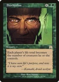 Biorhythm, Magic: The Gathering, Onslaught