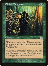 Elvish Vanguard, Magic: The Gathering, Onslaught