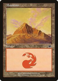 Mountain (346), Magic: The Gathering, Onslaught