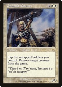 Catapult Master, Magic: The Gathering, Onslaught