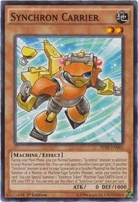 Synchron Carrier, YuGiOh, Structure Deck: Synchron Extreme