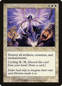 Akroma's Vengeance, Magic: The Gathering, Onslaught