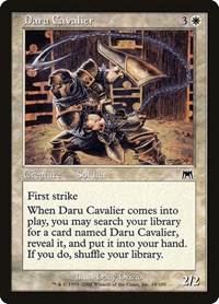 Daru Cavalier, Magic: The Gathering, Onslaught