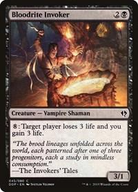 Bloodrite Invoker, Magic: The Gathering, Duel Decks: Zendikar vs. Eldrazi