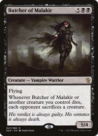 Butcher of Malakir, Magic: The Gathering, Duel Decks: Zendikar vs. Eldrazi