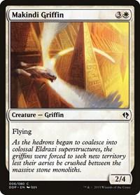 Makindi Griffin, Magic: The Gathering, Duel Decks: Zendikar vs. Eldrazi