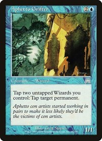 Aphetto Grifter, Magic: The Gathering, Onslaught
