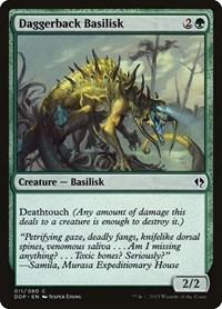 Daggerback Basilisk, Magic: The Gathering, Duel Decks: Zendikar vs. Eldrazi