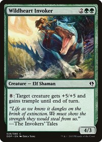 Wildheart Invoker, Magic, Duel Decks: Zendikar vs. Eldrazi