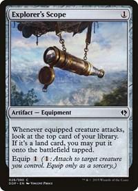 Explorer's Scope, Magic: The Gathering, Duel Decks: Zendikar vs. Eldrazi