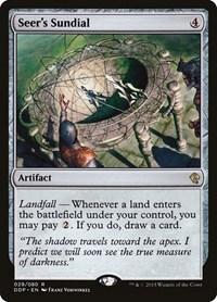 Seer's Sundial, Magic: The Gathering, Duel Decks: Zendikar vs. Eldrazi