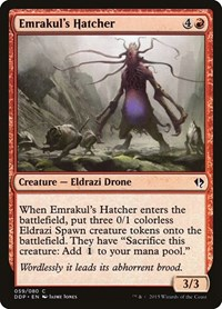 Emrakul's Hatcher, Magic: The Gathering, Duel Decks: Zendikar vs. Eldrazi