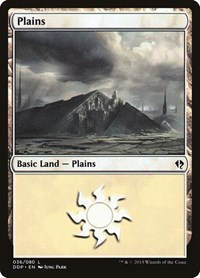 Plains (36), Magic: The Gathering, Duel Decks: Zendikar vs. Eldrazi