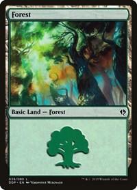 Forest (39), Magic: The Gathering, Duel Decks: Zendikar vs. Eldrazi