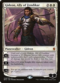 Gideon, Ally of Zendikar, Magic, Battle for Zendikar