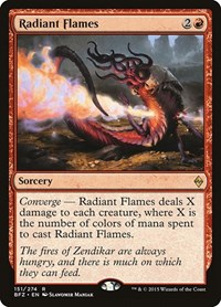 Radiant Flames, Magic: The Gathering, Battle for Zendikar