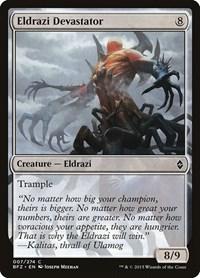 Eldrazi Devastator, Magic: The Gathering, Battle for Zendikar