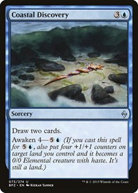 Coastal Discovery, Magic: The Gathering, Battle for Zendikar