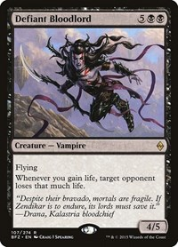 Defiant Bloodlord, Magic, Battle for Zendikar
