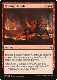 Rolling Thunder, Magic: The Gathering, Battle for Zendikar