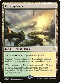 Canopy Vista, Magic: The Gathering, Battle for Zendikar