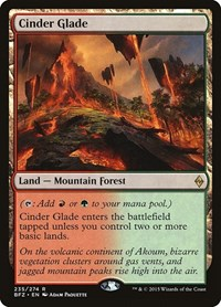 Cinder Glade, Magic: The Gathering, Battle for Zendikar
