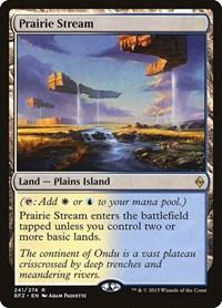 Prairie Stream, Magic: The Gathering, Battle for Zendikar