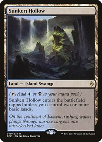 Sunken Hollow, Magic, Battle for Zendikar