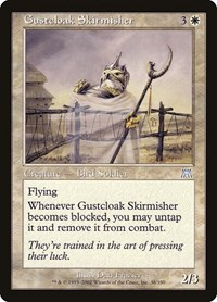 Gustcloak Skirmisher, Magic: The Gathering, Onslaught