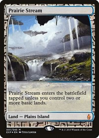 Prairie Stream, Magic: The Gathering, Zendikar Expeditions