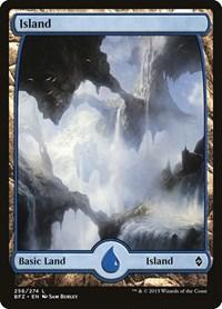 Island (256) - Full Art, Magic: The Gathering, Battle for Zendikar